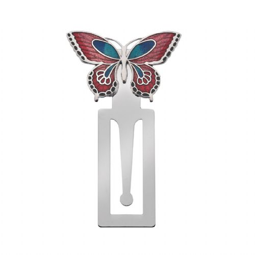 Bookmark Butterfly Silver Plated Brand New and Boxed